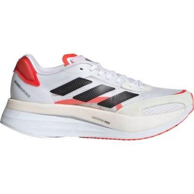 アディダス adidas レディース ランニング・ウォーキング シューズ・靴 Adizero Boston 10 Running Shoes White/Red
