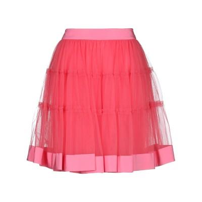 モスキーノ MOSCHINO ひざ丈スカート フューシャ 48 ナイロン 100% / シルク ひざ丈スカート