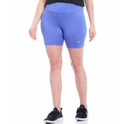 ナイキ レディース ハーフパンツ・ショーツ ボトムス Plus Size 7#double; Fast Running Shorts Sapphire/Reflective Silver