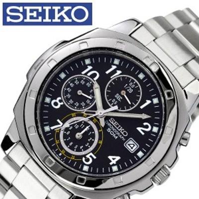 セイコー 腕時計 SEIKO 時計 メンズ ブラック SND195P1