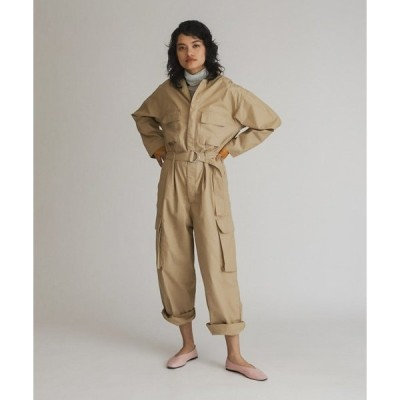 オールインワン LOOSE JUMPSUIT SOFT STRUCTURE INCENSE