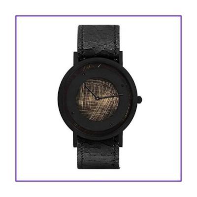 South Lane Stainless Steel Swiss-Quartz Leather Calfskin Strap, Black, 20 Casual Watch (Model: core-SL-114) 並行輸入品
