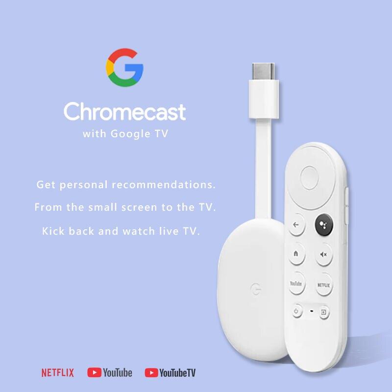 【eYe攝影】全新 第四代 Google Chromecast 4 TV 4K 媒體播放器 鏡像 電視棒 電視盒 安卓
