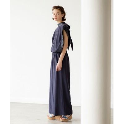 DRESSLAVE / back ribbon design combinaison(バックリボンデザインオールインワン) WOMEN オールインワン・サロペット > つなぎ/オールインワン