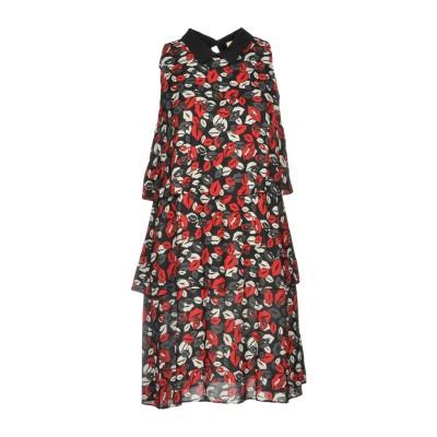 リュー ジョー LIU •JO ミニワンピース&ドレス ブラック 38 レーヨン 100% / ポリエステル ミニワンピース&ドレス