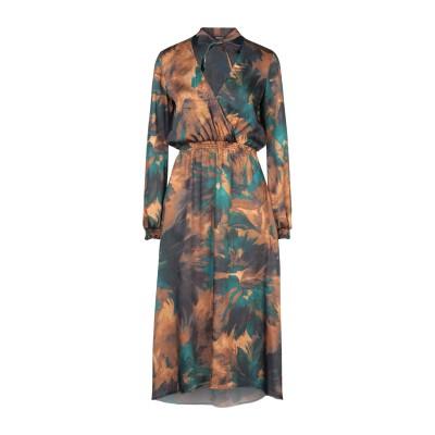 SISTE' S 7分丈ワンピース・ドレス ディープジェード S ポリエステル 100% 7分丈ワンピース・ドレス