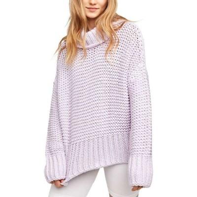 フリーピープル Free People レディース ニット・セーター トップス My Only Sunshine Sweater Lilac