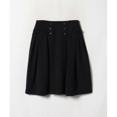 LANVIN COLLECTION/ランバン コレクション グログランリボンスカート ブラック4 38