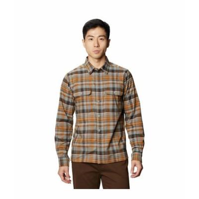 マウンテンハードウェア シャツ トップス メンズ Voyager One Long Sleeve Shirt Wet Stone