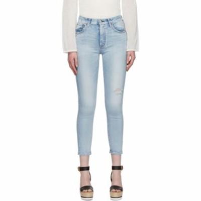 マウジー Moussy Vintage レディース ジーンズ・デニム ボトムス・パンツ blue hillrose high-waisted skinny jeans Light blue