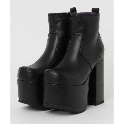 ブーツ 「YOSUKE/ヨースケ」厚底ショートブーツ