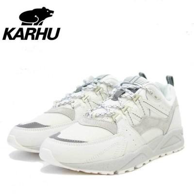 カルフ KARHU KH 804098 FUSION 2.0(フュージョン) カラー:ブライトホワイト/FOGGY DEW (ユニセックス)  レザースニーカー