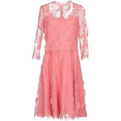 エルマノ シェルヴィーノ ERMANNO SCERVINO ミニワンピース&ドレス ピンク 44 100% ポリエステル ミニワンピース&ドレス