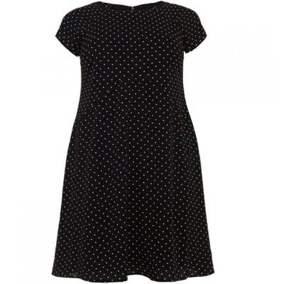 スタジオ8 Studio 8 レディース ワンピース ワンピース・ドレス Maria Spot Swing Dress Black