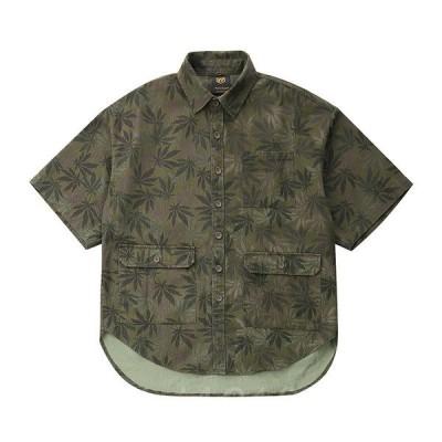 ワーク半袖サャーワークシャツビンテージクラッシックカジュアルカジュアルシャツメンズメンズファッショジファッション