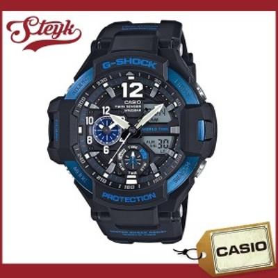 CASIO カシオ 腕時計 GA-1100-2B G-SHOCK ジーショック GRAVITYMASTER グラビティマスター アナデジ  メンズ