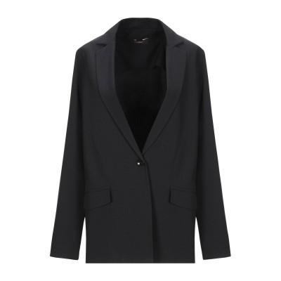 OLLA PARÉG テーラードジャケット ブラック 40 ポリエステル 95% / ポリウレタン 5% テーラードジャケット