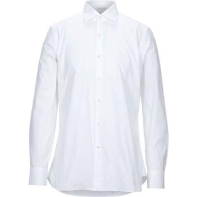 ソンリーサ SONRISA メンズ シャツ トップス solid color shirt White