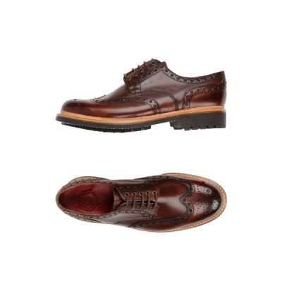 グレンソン GRENSON メンズ シューズ・靴 laced shoes Brown