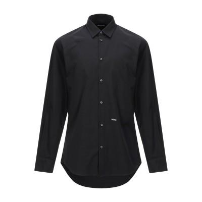 ディースクエアード DSQUARED2 シャツ ブラック 44 コットン 100% シャツ