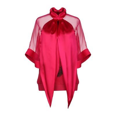 ジバンシィ GIVENCHY スウェットシャツ フューシャ 34 100% シルク コットン ウール スウェットシャツ