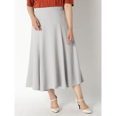 【大きいサイズ】とろみスカート 大きいサイズ スカート レディース