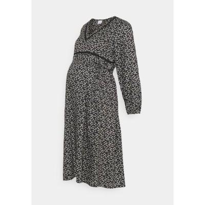 ママリシャス ワンピース レディース トップス MLZELINA DRESS - Day dress - black
