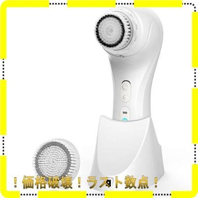 MiroPure 音波洗顔 電動 洗顔ブラシ ボディブラシ 無接点充電式 IPX7防水 毛穴ケア 四つクレンジングムード 二つヘ