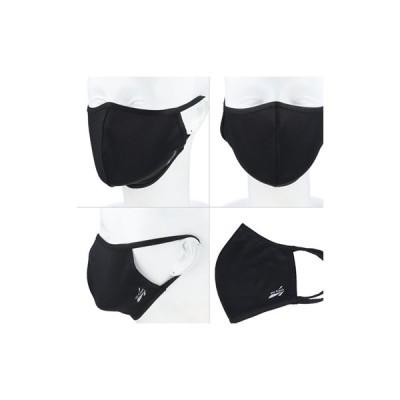 【ゆうパケット配送対象】all Cool クールマスク Lサイズ ブラック(ポスト投函 追跡ありメール便)