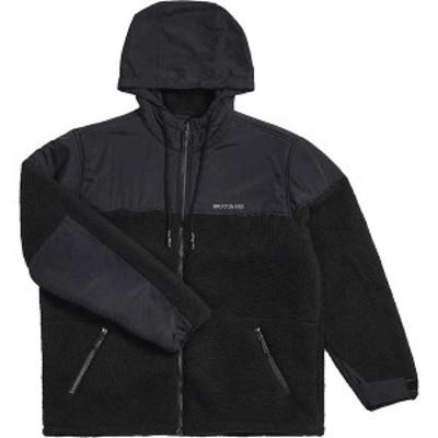 ブリクストン メンズ ジャケット・ブルゾン アウター Brixton Men's Olympus All-Terrain Jacket Black