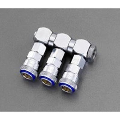 3連 エアーカップリング(自在型) 000012294615 WO店