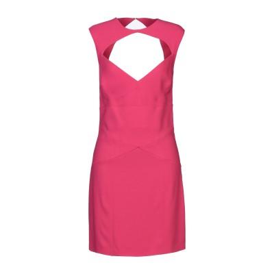 ディースクエアード DSQUARED2 ミニワンピース&ドレス フューシャ 44 レーヨン 95% / ポリウレタン 5% ミニワンピース&ドレス