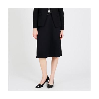 <TRANSWORK(Women)/トランスワーク>【XSサイズ~】【セットアップ対応】【美Skirt】ストレッチポンチスカート(U1S06220__) アオ【三越伊勢丹/公式】