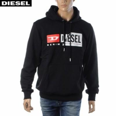 ディーゼル DIESEL パーカー スウェット プルオーバー ブランド メンズ  S-GIRK-HOOD-CUTY A00339-0IAJH ブラック 2020秋冬セール