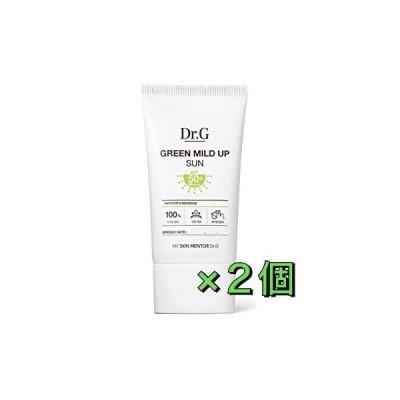 Dr.G Green Mild Up Sun SPF50+/PA++++ 50ml ドクタージー グリーン マイルド アップ サン 日焼け止め 2個セット
