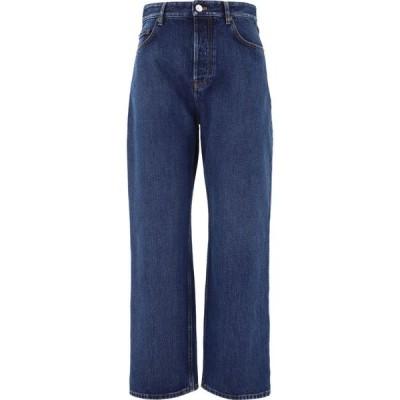 バレンシアガ Balenciaga レディース ジーンズ・デニム ワイドパンツ ボトムス・パンツ Wide Leg Denim Pants Blue