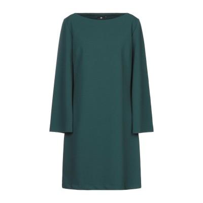 F.IT ミニワンピース&ドレス ダークグリーン 48 ポリエステル 95% / ポリウレタン 5% ミニワンピース&ドレス