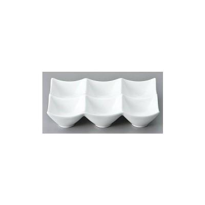 洋陶器 オープン/フローレンス 6cmシックスボール [12 x 18 x 3.8cm] 中国製 料亭 旅館 和食器 飲食店 業務用