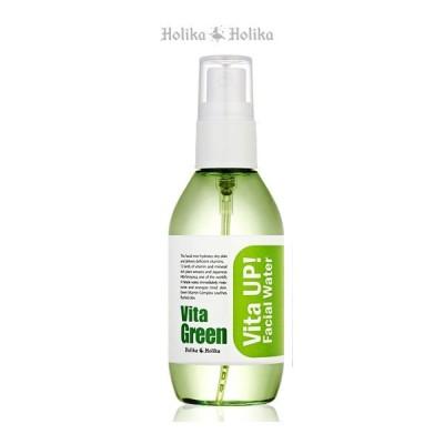 【定形外郵便 送料無料】HolikaHolika(ホリカホリカ)ビタアップ フェイシャル ウォーターVita Green(ビタ グリーン)100ml