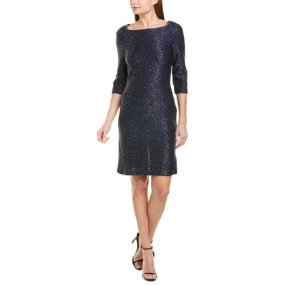 セントジョン ワンピース トップス レディース St. John Glimmering Sequin Sheath Dress -