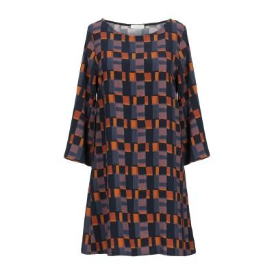 SIYU ミニワンピース&ドレス ダークブルー 44 レーヨン 95% / ポリウレタン 5% ミニワンピース&ドレス