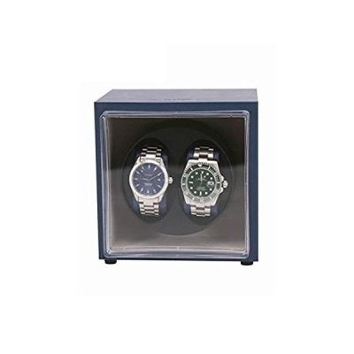 送料無料!WZ Double Automatic Watch Winder, 2+0 Watches Storage Boxes 5 Rotation Mode
