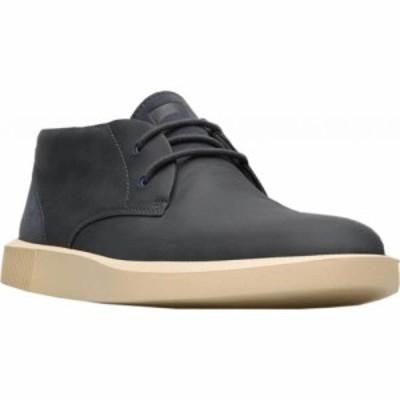 カンペール Camper メンズ ブーツ チャッカブーツ シューズ・靴 Bill Chukka Boot Charcoal Full Grain Leather/Nubuck