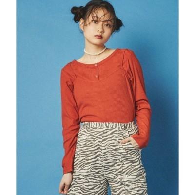 tシャツ Tシャツ DISPARK/【2点セット】マルチユースキャミセットT