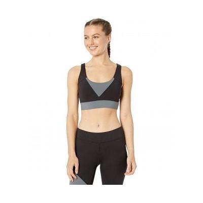 Bloch ブロック レディース 女性用 ファッション アクティブシャツ X-Back Crop Top - Black