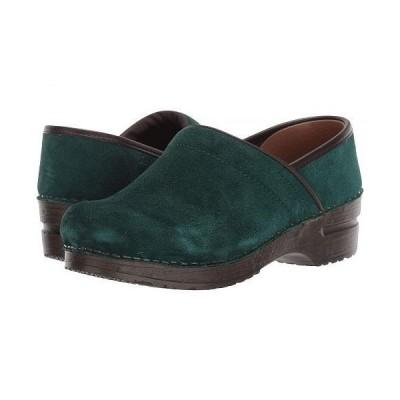 Sanita サニタ レディース 女性用 シューズ 靴 クロッグ ミュール Nina - Dark Green
