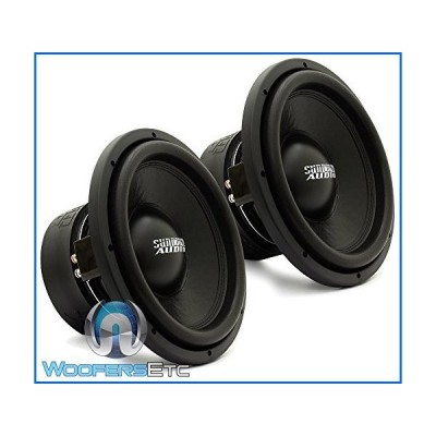 "Pair of SA-12 D2 REV.3 - Sundown Audio 12"" 750W Dual 2-Ohm SA Series Subwoofer SA12D2[並行輸入品]"