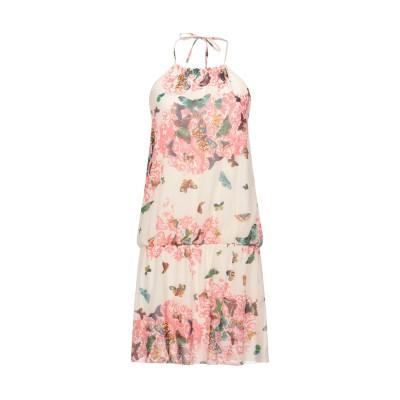 FLY GIRL ミニワンピース&ドレス アイボリー L ポリエステル 100% / レーヨン / ポリウレタン ミニワンピース&ドレス