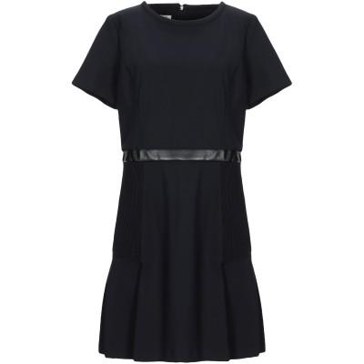 ピンコ PINKO ミニワンピース&ドレス ブラック 44 ナイロン 78% / ポリウレタン 22% / レーヨン / ポリエステル / ポリウレ