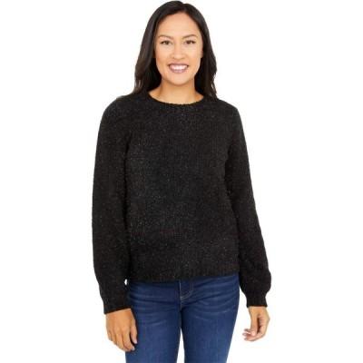 マイケル コース MICHAEL Michael Kors レディース ニット・セーター トップス Texture Puff Sleeve Sweater Black